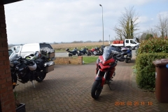 March 18 Butties and Stratford Garden Centre