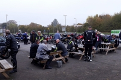 Oct Ride out and cream tea