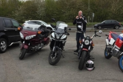 Dave and bikes